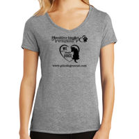 DM1350L - Ladies Tri-Blend V-neck T-shirt Thumbnail